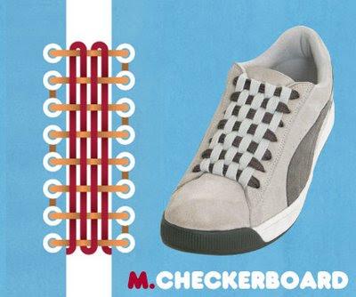 Shoe Laces on 15 Formas Diferentes De Poner Cordones A Las Zapatillas