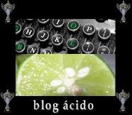 """Este blog tiene el premio """"Blog ácido"""""""