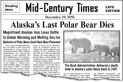 The end of polar bears in the wild
