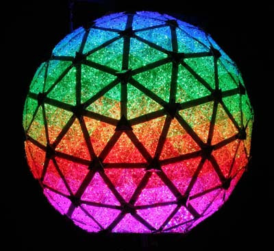 LEDs on NY Times Square Ball