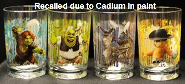 Cadium in Shrek Forever After collectible glass from McDonald's