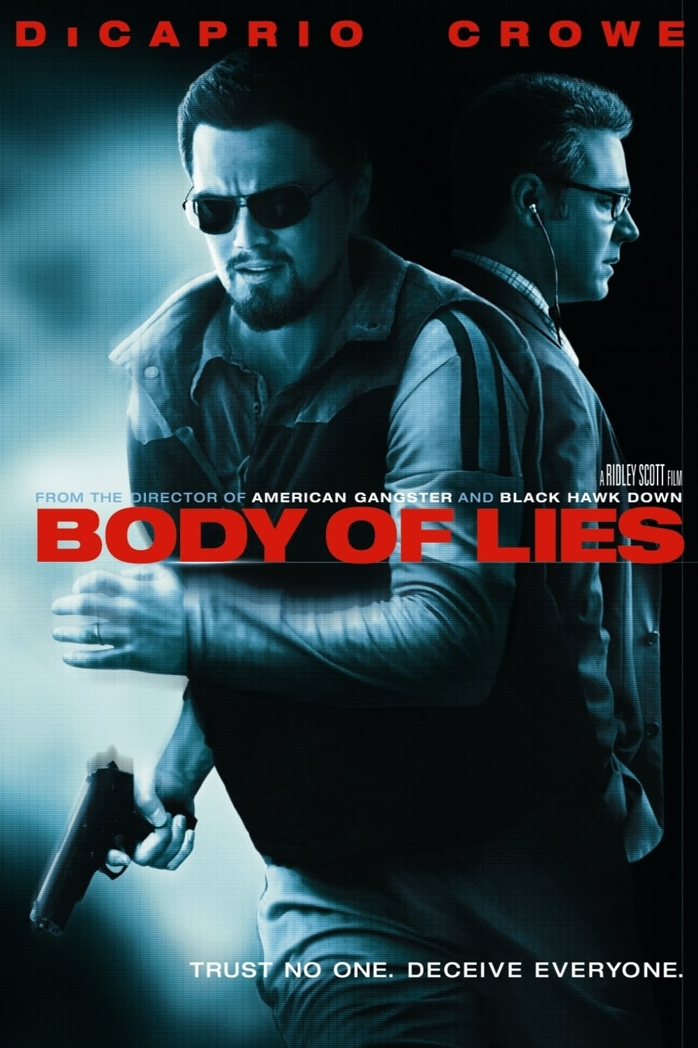 The Movies Database: [Posters] Body of Lies (2008)