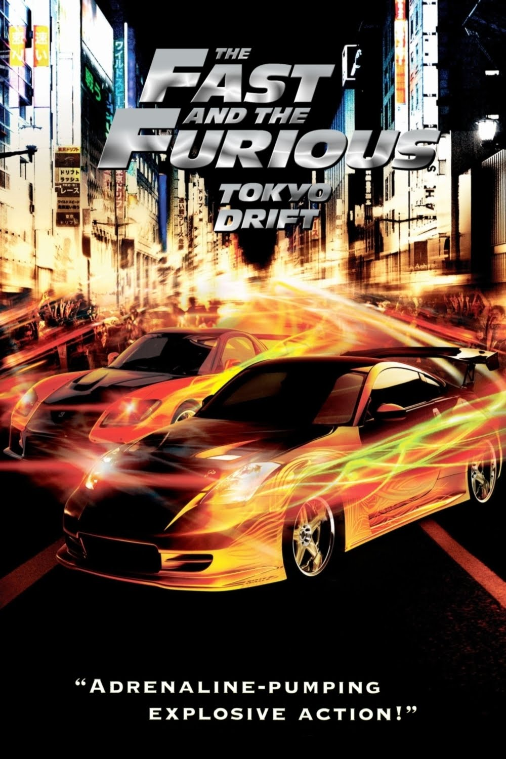 the movies database posters the fast and the furious tokyo drift 2006. Black Bedroom Furniture Sets. Home Design Ideas