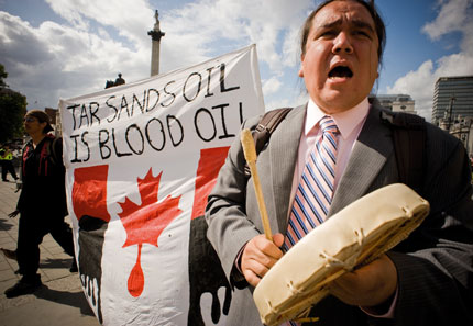 Tar Sands Oil is Blood Oil
