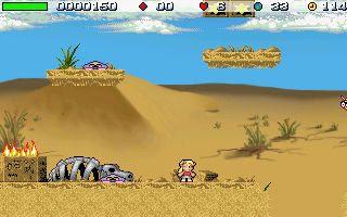 Giana's Return Commercial Quality GP2X Wiz Game