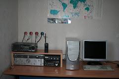 Shack radio provisoire