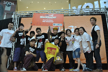 Champion in My FM dance competition