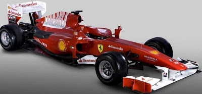 new Ferrari Formula 1 car for 2010