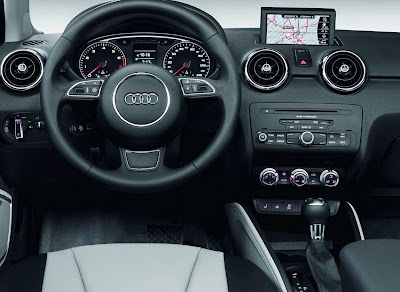 Audi A1 inside