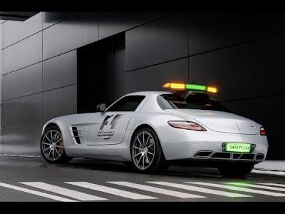 F1 Safety Car 2010  Mercedes SLS AMG