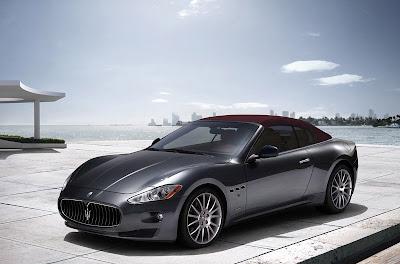 Black 2011 Maserati GranCabrio