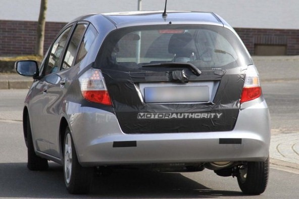 the 2011 Honda Fit Hybrid