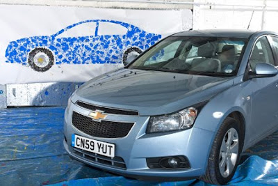 The Chevrolet Cruze to test the artballing