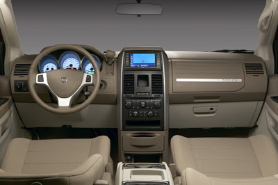 2009 Dodge Grand Caravan interior