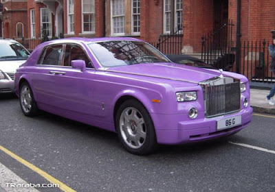 colored rolls royce