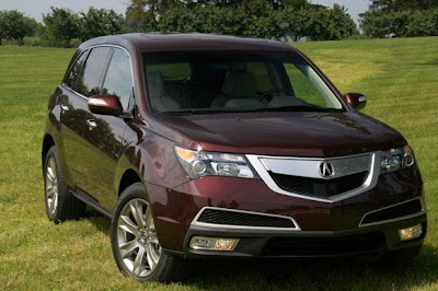 Acura   Mileage on Acura Mdx The Mdx Is The Last Vehicle In Acura S Lineup To Get The New
