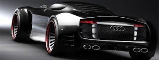 Audi R10 supercar