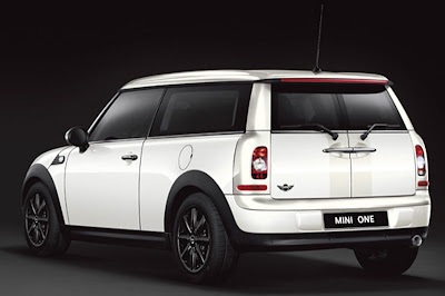 Black & White Editions for Mini One Clubman