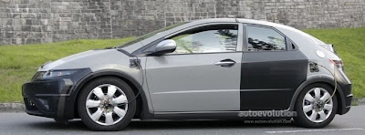 Honda Civic new pics 2012