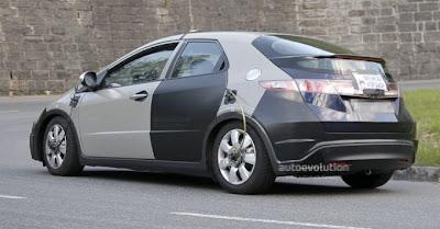 Honda Civic 2012 Spy pics