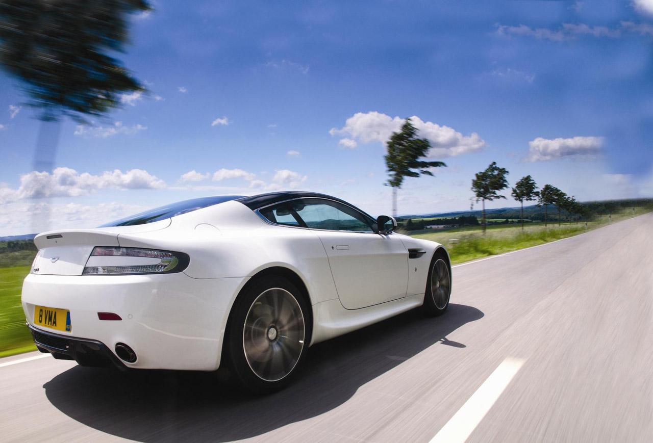 2011 Aston Martin V8 Vantage History