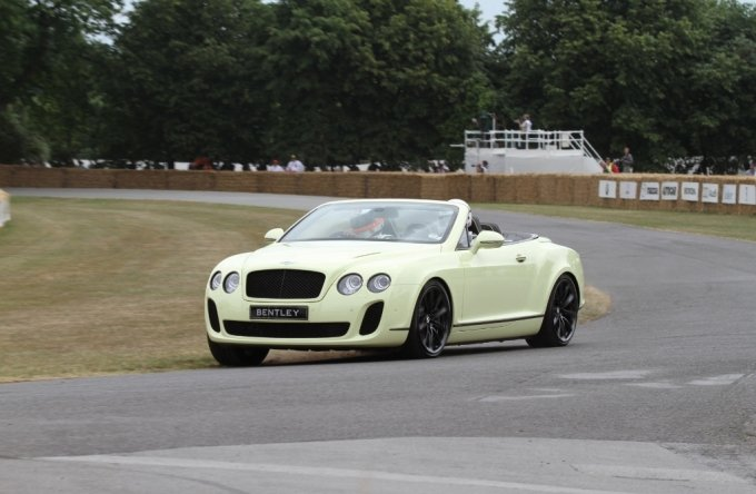 This weekend was submitted to a new convertible Bentley Continental