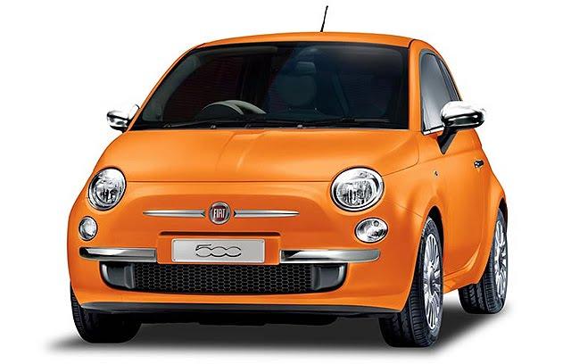 modif car fiat 500 arancia a special series for japan orange fiat 500. Black Bedroom Furniture Sets. Home Design Ideas