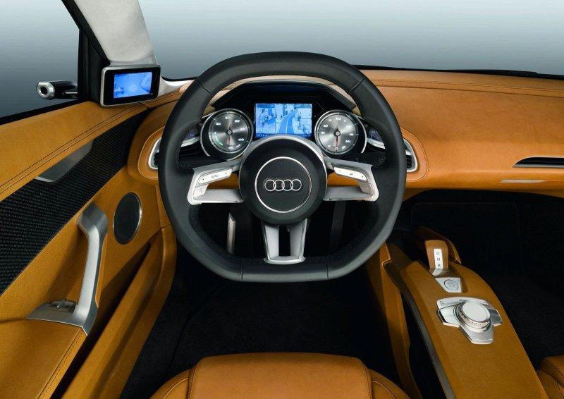 Concept Audi R4 E-Tron Coupe