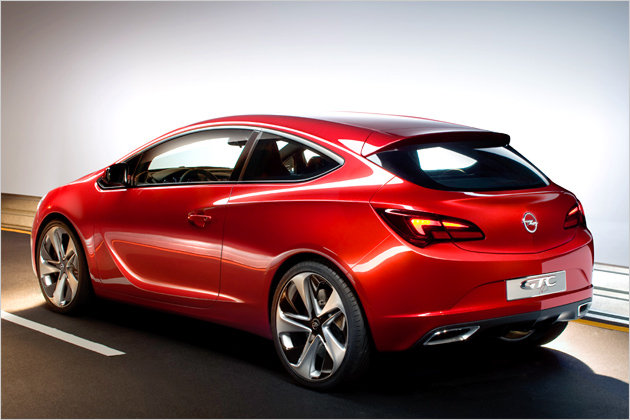 2012 Opel Astra GTC Paris: First pictures of the three-door Astra