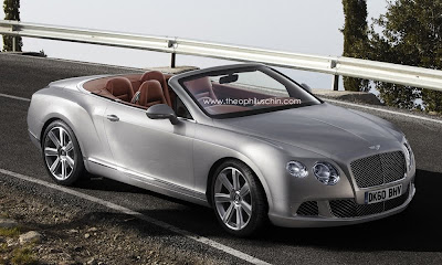 2012 Bentley Continental GTC: First photos