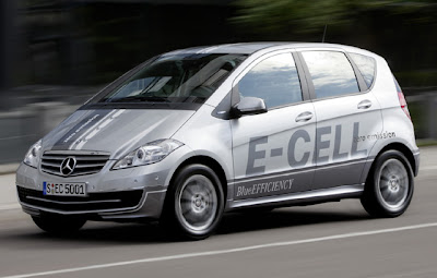 Mercedes-Benz Class-A Launches  E-Cell