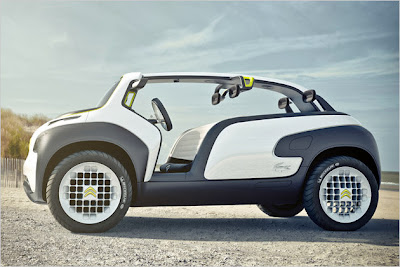Citroën Lacoste: Concept Car in the buggy-style stands in Paris