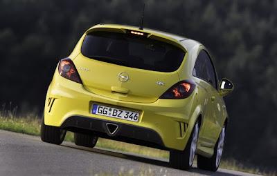2011 Opel Corsa OPC updates in Europe