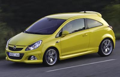 2011 Opel Corsa OPC updates in Europe2011 Opel Corsa OPC updates in Europe