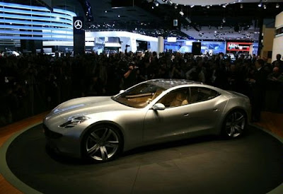 Fisker presented in Paris, 403-strong serial hybrid
