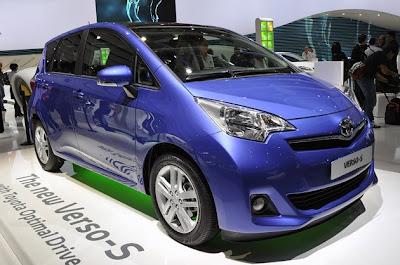 Toyota Verso-s Live Paris 2010