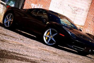 Ferrari 458 Italia Fabspeed black