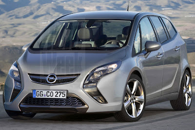 Opel Zafira 2012 live