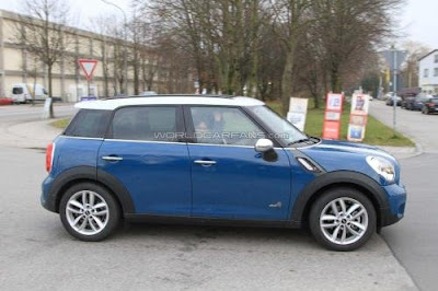 2012 MINI Countryman Cooper S Diesel Car reviews:Spied : MINI Countryman Cooper S Diesel 2011 has the same label SD