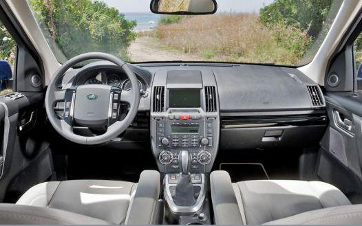 land rover freelander facelift 2011 now also as a fabric softener garage car. Black Bedroom Furniture Sets. Home Design Ideas