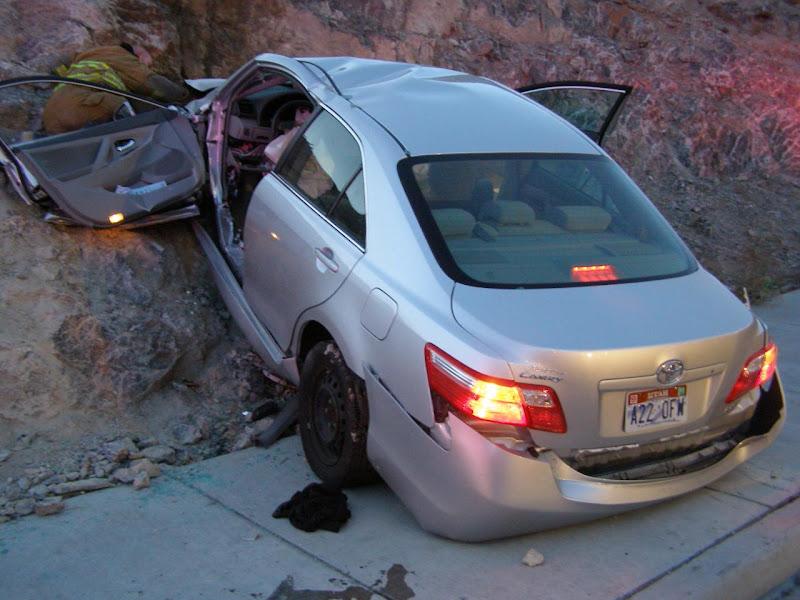 Toyota Camry Crash in Utah pics