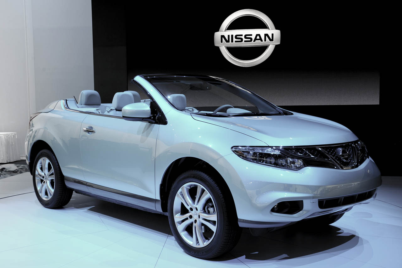 nissan murano crosscabriolet first live pictures and price los angeles 2010 garage car. Black Bedroom Furniture Sets. Home Design Ideas