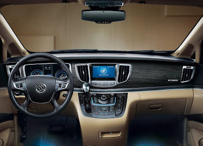 Buick GL8 is a luxury estate in 2011