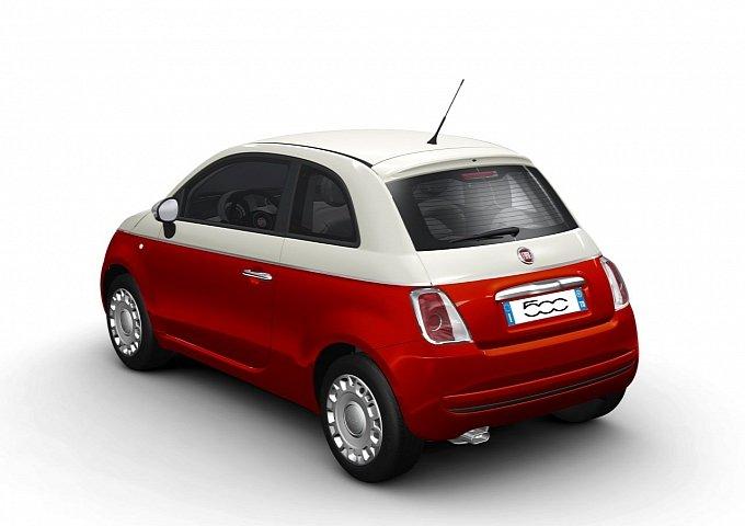 O lançamento do Fiat 500 2011 Bicolore