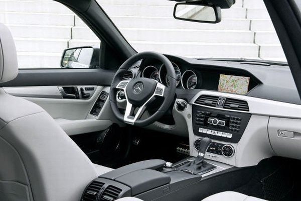 Mercedes Benz C Class 2011 Interior. 2011 2012 Mercedes C-Class