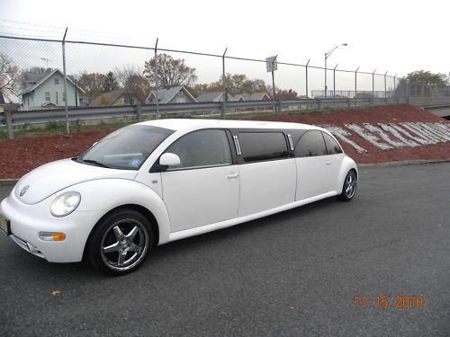 limousine  vw  beetle garage car