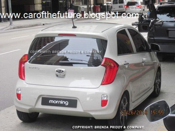 Kia Picanto 2011 4 Car reviews:Spyshots : 2011 Kia Picanto   Naked