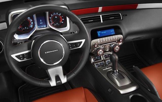2011 chevrolet camaro ss convertible official indy 500 for Interior 86 camaro
