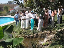 Ceremonia del Agua en Casa Atzingo-La Casa de la Red
