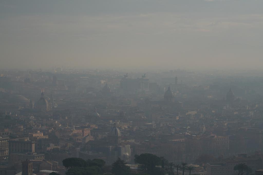 polveri sottili e riscaldamento globale